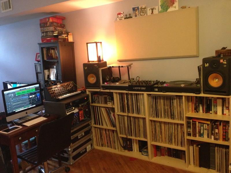 My House Is An Open Layout Type Thing So I Just Grabbed A Corner And Set Up There